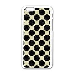 CIR2 BK-MRBL BG-LIN (R) Apple iPhone 6/6S White Enamel Case