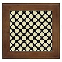 CIR2 BK-MRBL BG-LIN Framed Tiles