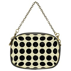 CIR1 BK-MRBL BG-LIN (R) Chain Purses (One Side)