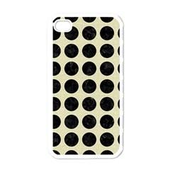 CIR1 BK-MRBL BG-LIN (R) Apple iPhone 4 Case (White)