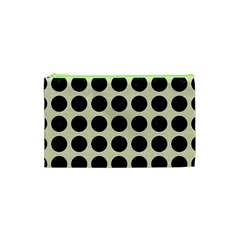 CIR1 BK-MRBL BG-LIN (R) Cosmetic Bag (XS)