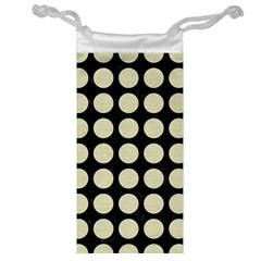 CIR1 BK-MRBL BG-LIN Jewelry Bag