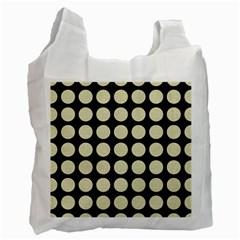 CIR1 BK-MRBL BG-LIN Recycle Bag (Two Side)