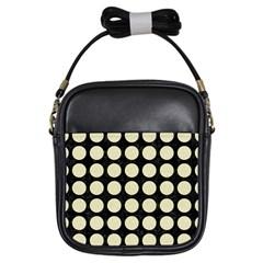 CIR1 BK-MRBL BG-LIN Girls Sling Bags
