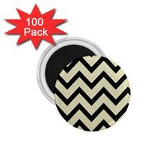 CHV9 BK-MRBL BG-LIN (R) 1.75  Magnets (100 pack)