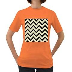 CHV9 BK-MRBL BG-LIN (R) Women s Dark T-Shirt