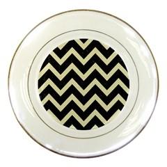 CHV9 BK-MRBL BG-LIN Porcelain Plates