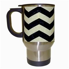 CHV3 BK-MRBL BG-LIN Travel Mugs (White)