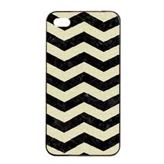 CHV3 BK-MRBL BG-LIN Apple iPhone 4/4s Seamless Case (Black)