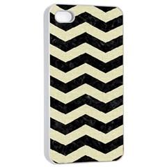 CHV3 BK-MRBL BG-LIN Apple iPhone 4/4s Seamless Case (White)