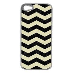 CHV3 BK-MRBL BG-LIN Apple iPhone 5 Case (Silver)