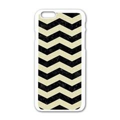 CHV3 BK-MRBL BG-LIN Apple iPhone 6/6S White Enamel Case