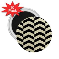 CHV2 BK-MRBL BG-LIN 2.25  Magnets (10 pack)