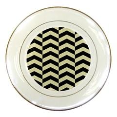 CHV2 BK-MRBL BG-LIN Porcelain Plates