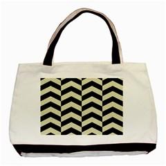 CHV2 BK-MRBL BG-LIN Basic Tote Bag (Two Sides)
