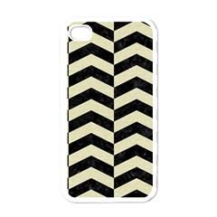 CHV2 BK-MRBL BG-LIN Apple iPhone 4 Case (White)