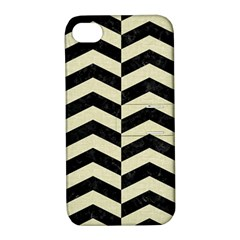 CHV2 BK-MRBL BG-LIN Apple iPhone 4/4S Hardshell Case with Stand