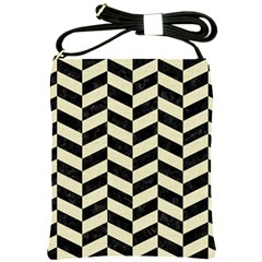 CHV1 BK-MRBL BG-LIN Shoulder Sling Bags