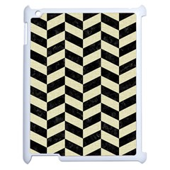 CHV1 BK-MRBL BG-LIN Apple iPad 2 Case (White)