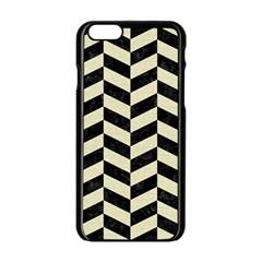 CHV1 BK-MRBL BG-LIN Apple iPhone 6/6S Black Enamel Case