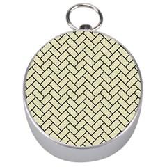 BRK2 BK-MRBL BG-LIN (R) Silver Compasses