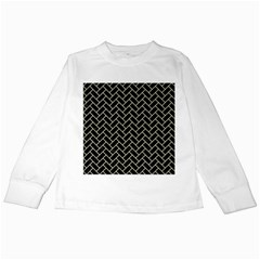 BRK2 BK-MRBL BG-LIN Kids Long Sleeve T-Shirts