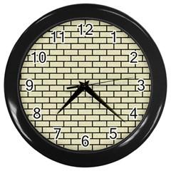 BRK1 BK-MRBL BG-LIN (R) Wall Clocks (Black)