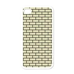 BRK1 BK-MRBL BG-LIN (R) Apple iPhone 4 Case (White)