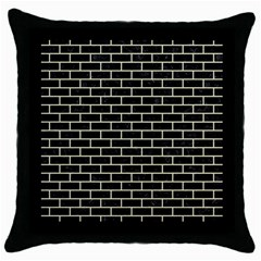BRK1 BK-MRBL BG-LIN Throw Pillow Case (Black)