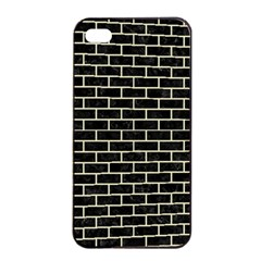 BRK1 BK-MRBL BG-LIN Apple iPhone 4/4s Seamless Case (Black)