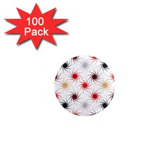 Pearly Pattern 1  Mini Magnets (100 pack)