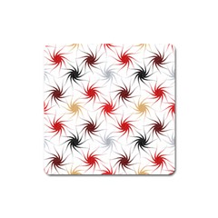 Pearly Pattern Square Magnet