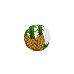 Pineapples Tropical Fruits Foods 1  Mini Magnets
