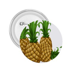 Pineapples Tropical Fruits Foods 2.25  Buttons