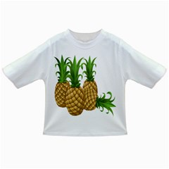 Pineapples Tropical Fruits Foods Infant/Toddler T-Shirts