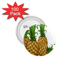 Pineapples Tropical Fruits Foods 1.75  Buttons (100 pack)