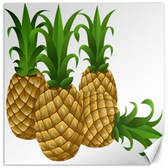 Pineapples Tropical Fruits Foods Canvas 12  x 12