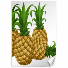 Pineapples Tropical Fruits Foods Canvas 20  x 30