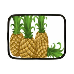 Pineapples Tropical Fruits Foods Netbook Case (Small)