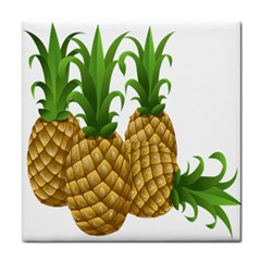 Pineapples Tropical Fruits Foods Face Towel