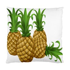 Pineapples Tropical Fruits Foods Standard Cushion Case (One Side)