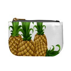 Pineapples Tropical Fruits Foods Mini Coin Purses