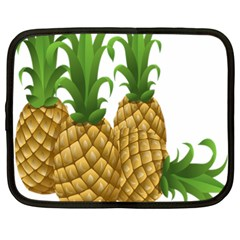 Pineapples Tropical Fruits Foods Netbook Case (xxl)