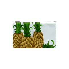 Pineapples Tropical Fruits Foods Cosmetic Bag (Small)