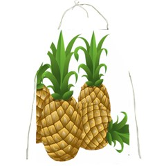 Pineapples Tropical Fruits Foods Full Print Aprons