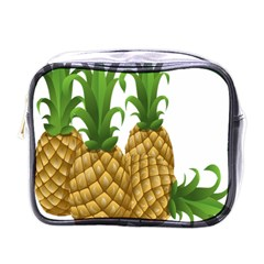 Pineapples Tropical Fruits Foods Mini Toiletries Bags