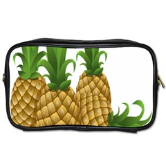 Pineapples Tropical Fruits Foods Toiletries Bags