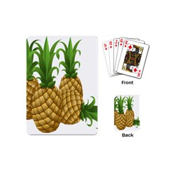 Pineapples Tropical Fruits Foods Playing Cards (Mini)