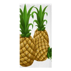 Pineapples Tropical Fruits Foods Shower Curtain 36  x 72  (Stall)