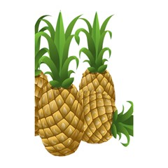 Pineapples Tropical Fruits Foods Shower Curtain 48  x 72  (Small)
